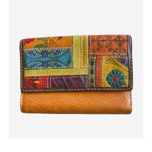Fossil Genuine Boho Leather Women Wallet (NWOT)